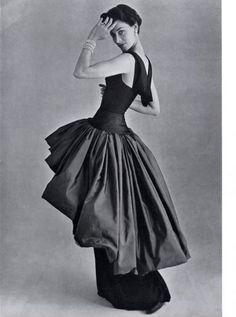 Grès (Germaine Krebs) 1950 Evening Dress, Pottier by Philippe Pottier | Hprints.com
