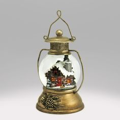 Check out the deal on Cabin in a Lantern Snow Globe at Global Shakeup / snowdomes.com