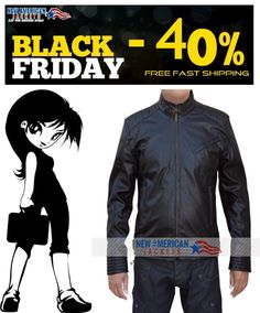 Black Friday Sale! Jeremy Renner Bourne Legacy Jacket is on Sale with Free Shipping along with Free gifts for all customer.  #BlackFriday #BlackFridaySale #JeremyRenner #BourneLegacy #Black #GivingTuesday #charity #handmade #diy #holidayssavings #ThanksgivingAds #CheepTweet #gentleman #gentlemanstyle #moda #fashionmiami #Gaming #bikers #costume #boysFashion #BlackFriday #shoppingseason