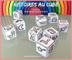 Développez l'imagination de vos enfants avec ce jeu de dés qui va leur permettre d'inventer des milliers d'histoires. Diy For Kids, Crafts For Kids, Harry Potter Christmas Decorations, Story Cubes, Alternative Education, French Classroom, Summer Activities, Kid Activities, Best Teacher