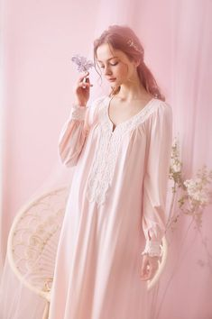Style S 16009 Fabric Modal Size Length Bust Sleeves XS in. = 119 cm in. = 88 - 92 cm in. = 62 cm S 48 in. = 122 cm in. = 92 - 96 cm in. = 125 cm in. - = 96 - 98 cm in. = 63 cm L in. = 128 cm in. Cute Girl Dresses, Fall Dresses, Flower Girl Dresses, Wedding Dresses, Sleep Dress, Baby Dress, Women Salwar Suit, Night Gown Dress, Nightgown Pattern