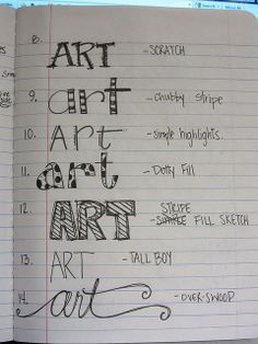 I should make a catalog of different hand-lettering styles as a reference for making anchor charts. Hand Lettering Styles, Doodle Lettering, Creative Lettering, Lettering Ideas, Sketch Note, Do It Yourself Inspiration, Handwriting Fonts, Penmanship, Script Fonts
