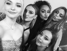Little Mix and Dove Cameron