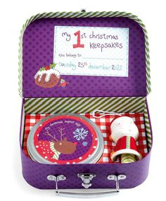 My First Christmas Suitcase