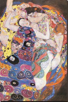 Die Jungfrauen Leinwand von Gustav Klimt bei AllPosters.de