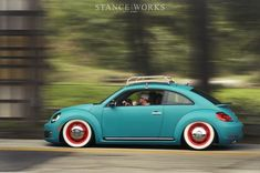 New VW Beetle, old look. I could get behind the new ones if they looked like this