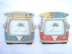 Set of 2 Photo Frames Vw Van Bus w/ Surfboards 4 X 6 Photo by Florida Gifts, http://www.amazon.com/dp/B004NF4A9A/ref=cm_sw_r_pi_dp_0Ee-rb064758C