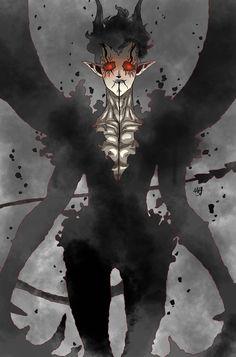 Naruto and Sasuke vs The Devil of Kotodama magic(Black Clover) - Battles - Comic Vine Demon Manga, Otaku, Clover Tattoos, Black Clover Manga, Image Manga, Naruto And Sasuke, Fanarts Anime, Dark Anime, Dark Fantasy Art