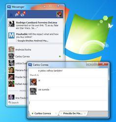 O aplicativo do Facebook para Windows