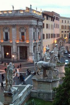 Piazza del Campidoglio,Rome,Italy