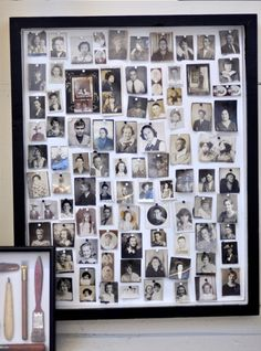 This would be great for ancestors photos.