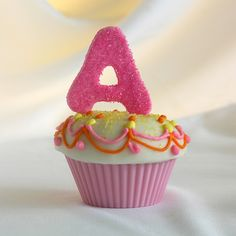 "cupcake ""A"""