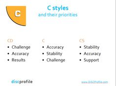 From http://www.slideshare.net/onlinedisc/disc-personality-styes