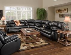 American Made 699 Fresno Reclining Sofa Sectional in Leather or Microfiber