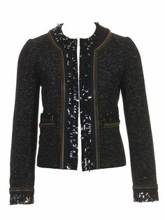 Burda Bouclé Jacket 11/2010 #104 The right fabric is critical, zipper tape is awesome