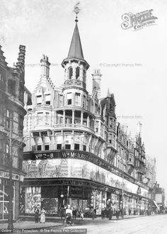 Photo of Reading, Mc Ilroy's Department Store, Oxford Road c.1920, from Francis Frith