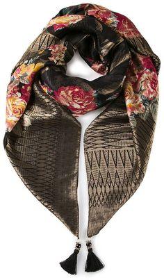 Etro rose scarf on shopstyle.com.au