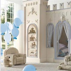 The newest line from Savio Firmino was inspired by the birth of his grandchild, complete with nurseries that seamlessly transition into boy and girl's rooms