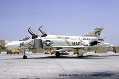 US Marines VMFA-323 McDonnell F-4B Phantom 150639/WS-11 (1973)