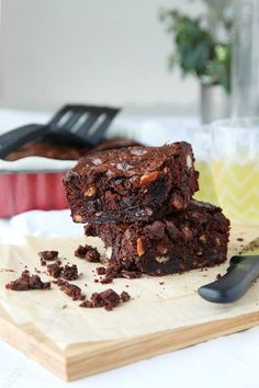 Brownies au chocolat de Hélène Darroze