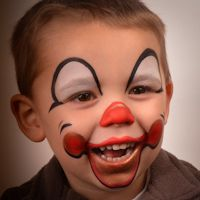 Red Nose Day Face Paint Templates