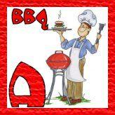 Alfabeto para BBQ. Blogger Templates, Picnics, Fictional Characters, Bbq, Fonts, Alphabet, Barbecue, Designer Fonts, Barrel Smoker