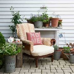 Unique ideas for decorating the garden, patio & balcony 2 @ Pin Your Home