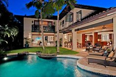 i want a beautiful home in Hawaii with lots of outdoor living area!