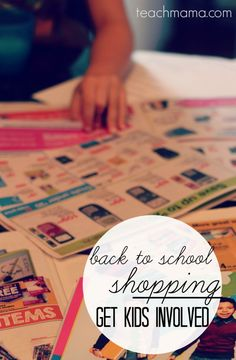 The new school year will be starting up before you know it and it will be time for back to school shopping. Here are some tips from a Mom on how to get kids involved with back to school shopping! #teachmama #bts #backtoschool #backtoschoolshopping #schoolshopping #school #schoolyear #momtips #kidfun