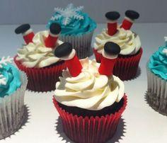 Cupcakes Navidad elaborados por TheCakeProject en Madrid