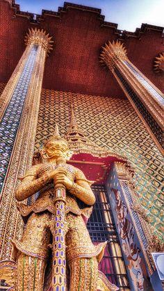Wat Phra Kaew, Bangkok, Thailand Palace, Temple, Travel Destinations, Asia, Mountains, Country, World, Beach, Bergen