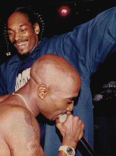 Snoop Dogg and Tupac Shakur