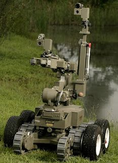 "EOD Robots Keep Troops out of ""The Hurt Locker."""