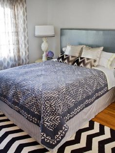 The experts at HGTV.com show how to make an easy-to-sew bed skirt. --> http://www.hgtv.com/design/rooms/bedrooms/quick-and-easy-bed-skirt?soc=pinterest