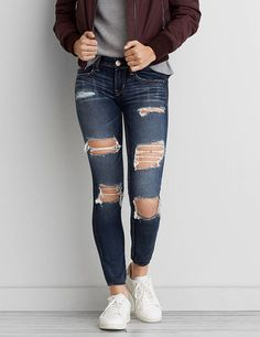 American eagle jeans are my favorite jeans ever they fit so nicely