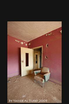 sala abandonada