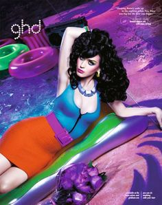 katy perry david lachapelle ghd