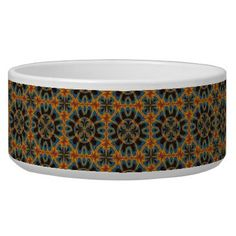 Tapestry pattern bowl - fancy gifts cool gift ideas unique special diy customize