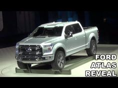 ▶ Ford Unveils the Ford Atlas Pickup Truck - YouTube