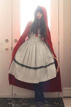 Little Red Riding Hood Halloween Costume! ♥