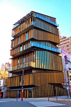 Asakusa Culture Tourist Information Center, Tokyo, Japan;  photo by Ken Lee 2010, via Flickr
