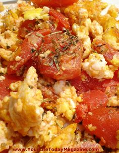 Easy, inexpensive and delicious egg dish for a quick dinner or an elegant brunch.