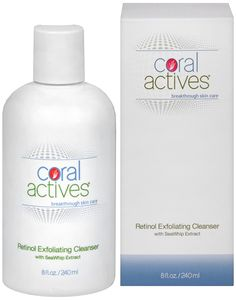 CoralActives Retinol Exfoliating Acne Cleanser 8 fl oz -- To view further, visit now : Skin care