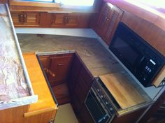 powerboat galley