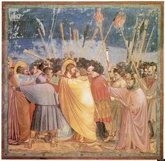 """My favorite early Renaissance painter: Giotto — """"Frescoes in the Arena Chapel (Capella Degli Scrovegni)"""" (1305)"""