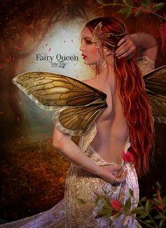 (via Fairy Queen by EstherPuche-Art on deviantART)