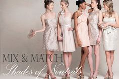 Mix and Match Neutrals from Jenny Yoo