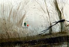 In the woods after the rain. #pascalcampion