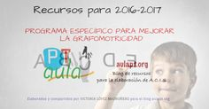 PROGRAMA ESPECÍFICO PARA MEJORAR LA GRAFOMOTRICIDAD Leo, Personal Care, Teaching, How To Plan, Victoria, Read And Write, Blue Prints, Special Education, Self Care