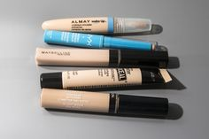 Best All-Purpose Stick: NYX Cosmetics Incredible Waterproof Concealer If Bobbi Brown's Skin Foundation Stick and the Kevyn Aucoin Sensual Skin Enhancer mated, the result would be something along the lines of NYX's $5 concealer. It glides onto skin with ease and melts in as you blend, allowing buildable coverage with a natural, glowy finish. Good for spots, discoloration, and under eyes, and comes in 11 shades—including a corrective green, yellow, and lavender. $5, people. Incredible for…